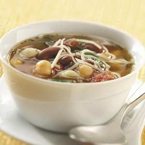 Spill-the-Beans Minestrone
