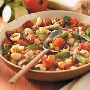 Minestrone with Italian Sausage