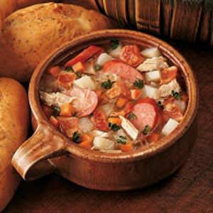 German Sauerkraut Soup