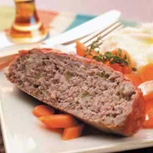 Beef 'n' Turkey Meat Loaf
