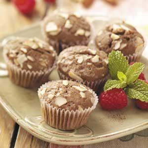 Raspberry-Chocolate Mini Muffins