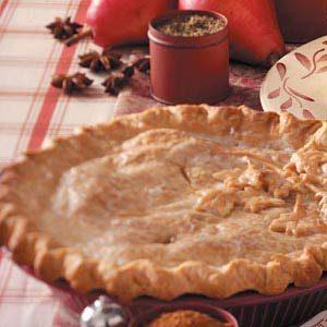 Double-Crust Pear Pie