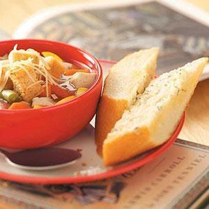 Go-Go Garlic Bread