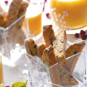 Cranberry-White Chocolate Biscotti