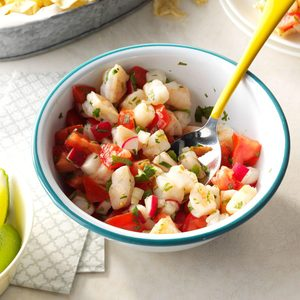 Spicy Shrimp Salsa