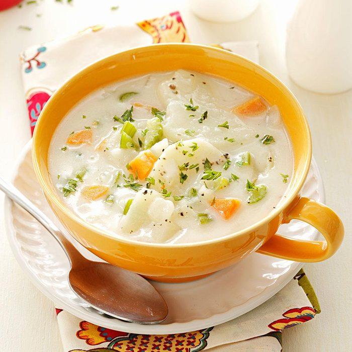 Idaho: Hearty Potato Soup