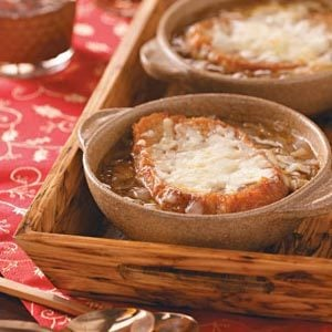 Four-Cheese French Onion Soup