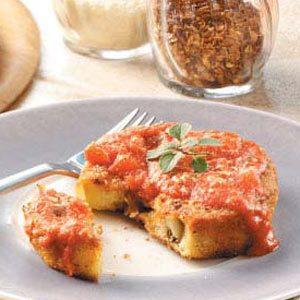 Hearty Eggplant Parmesan
