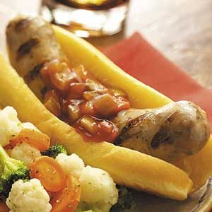 Barbecue Italian Sausages