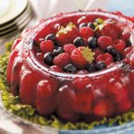Berry Gelatin Mold