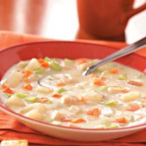Cream of Turkey Vegetable Soup