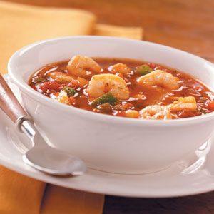 Tomato Seafood Soup