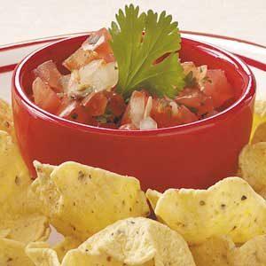Fresh Tomato Mexican Salsa