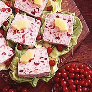 Frozen Cranberry Salad