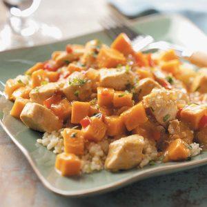 Chicken 'n' Sweet Potato Stew