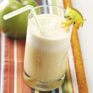 Orange Soy Milk Frappes