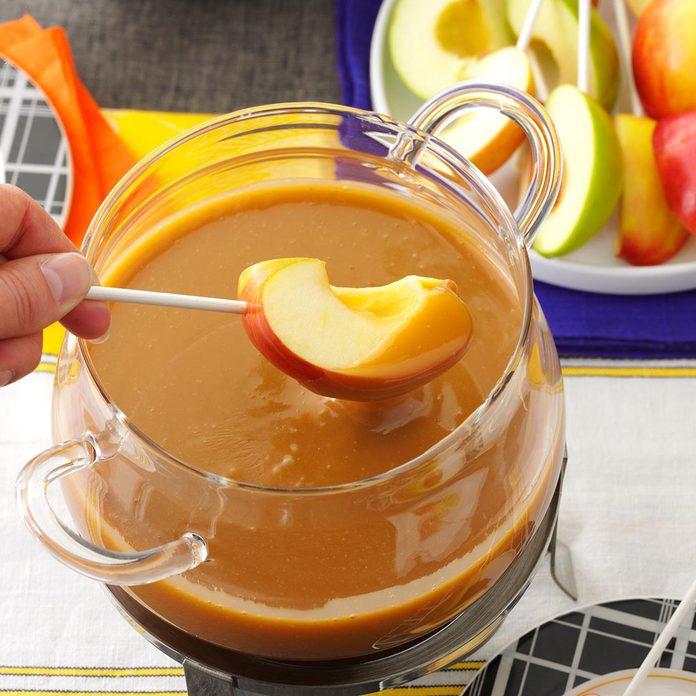 Caramel Apple Fondue