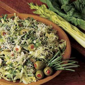 Swiss Cheese Salad