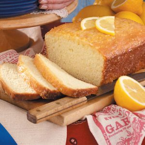 Golden Lemon Bread