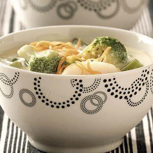 Easy Cheese Broccoli Soup