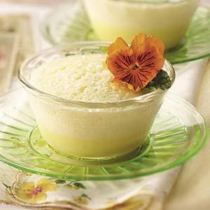 Lemon Pudding Souffles