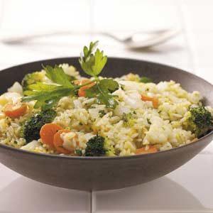 Rice Vegetable Skillet