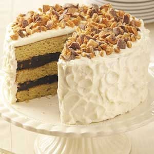 Blue-Ribbon Peanut Butter Torte