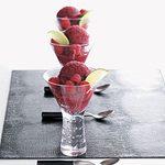 Strawberry-Raspberry Ice