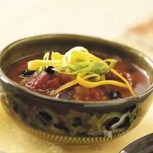 Spicy Three-Bean Chili