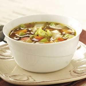 Winter Harvest Vegetable Soup