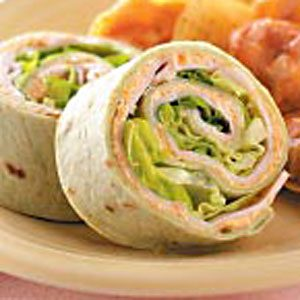 Roasted Vegetable Turkey Pinwheels