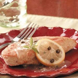 Lemony Chicken Piccata