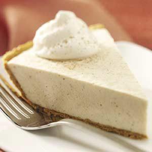 No-Bake Chai Cheese Pie
