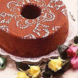 Basic Chocolate Pound Cake