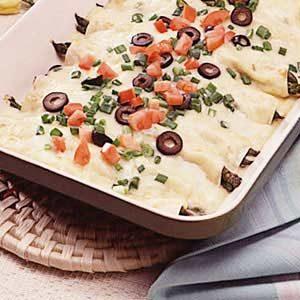 Asparagus Enchiladas