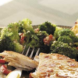 Broccoli with Smoked Almonds