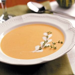 Gingered Pumpkin Bisque