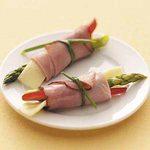 Asparagus Ham Roll-Ups