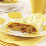 Hearty Shrimp Omelet