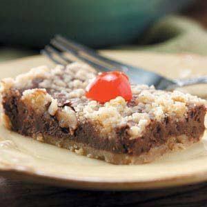 Chocolate-Cherry Cheesecake Bars