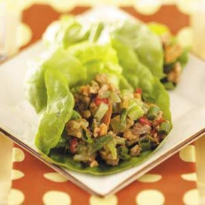 Asian Turkey Lettuce Wraps