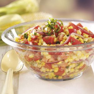 Contest-Winning Tomato Corn Salad