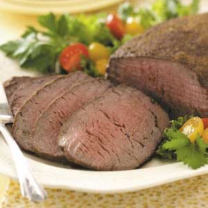 Chipotle-Rubbed Beef Tenderloin