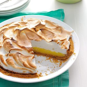 Buttermilk Lemon Meringue Pie