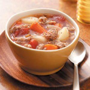 Turnip Sausage Stew