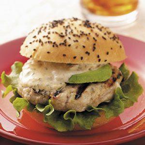 Floribbean Fish Burgers with Tropical Sauce