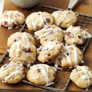Cranberry-White Chocolate Cookies