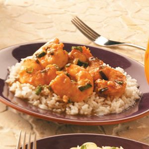 Shrimp with Ginger-Chili Sauce