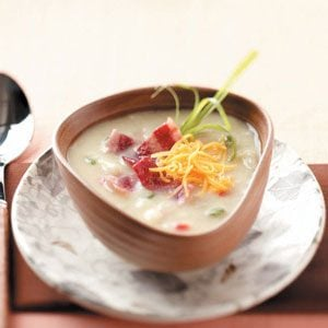 Makeover Hash Brown Soup
