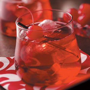 Cherry Brandy Old-Fashioned